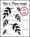 Crealies Clear Stamp Bits & Pieces nr. 150  CLBP150