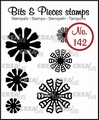 Crealies Clear Stamp Bits & Pieces nr. 142  CLBP142
