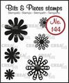 Crealies Clear Stamp Bits & Pieces nr. 144  CLBP144