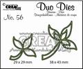Crealies Duo Dies nr. 56 Bladeren CLDD56