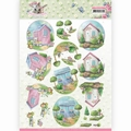 Amy Design knipvel Spring is Here Garden Sheds CD11279