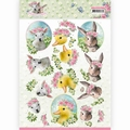 Amy Design knipvel Spring is Here Baby Animals CD11276