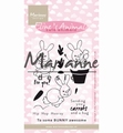 Marianne Design clear stamp Eline's Cute Bunnies EC0178
