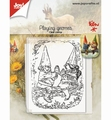 Joy! Crafts Clear Stamp Spelende Kabouters 6410/0507