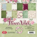 Craft & You Papierblok Flower Vibes CPB-FC15
