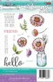 Polka Doodles Clear Stamp Hello Friend PD7538