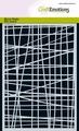 Craft Emotions Mask Stencil Lijnen Onregelmatig 185070/1267