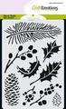 Craft Emotions Mask Stencil Florals 185070/0102