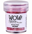 WOW Embossing Poeder Glitter Rocking Red WS200R