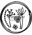 Marianne Design Craftables Doodle Circle CR1468