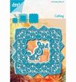 Joy Crafts Snijmal Vierkant Blauw 6002/1258