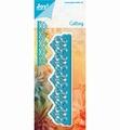 Joy Crafts Snijmal Border Blauw 6002/1257