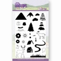 Jeanine's Art Clear Stamp Spring Landscapes Mount JACS10026