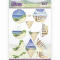 Jeanine's Art Knipvel Spring Landscapes Beach CD11295
