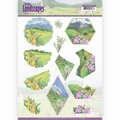 Jeanine's Art Knipvel Spring Landscapes Mountains CD11293