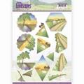 Jeanine's Art Knipvel Spring Landscapes Sunset CD11292