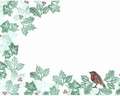 Card-io Majestix Clear Stamp The Holly and the Ivy CDMAHI-01