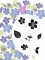 Card-io Majestix Clear Stamp Sakura Blooms CDMASA-01