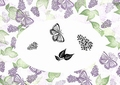 Card-io Majestix Clear Stamp Lovely Lilacs CDMALO-04