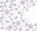 Card-io Majestix Clear Stamp Winter Flurry CDMAWI-01