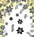 Card-io Majestix Clear Stamp Dancing Daffodils CDMADA-02
