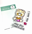 Gerda Steiner Clear Stamp More than Chocolate GSD665