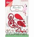 Joy Crafts  Snijmal Flamingo Ella 6002/1255