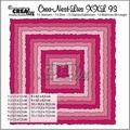 Crea-Nest-Lies set mallen nummer 93 XXL   CLNest93XXL