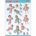 Yvonne Creations knipvel Bubbly Girls Shopping CD11307