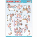 Yvonne Creations knipvel Bubbly Girls Bubbly Bath CD11306
