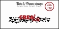 Crealies Clear Stamp Bits & Pieces nr. 170  CLBP170
