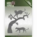 Amy Design Snijmal Wild Animals Panther ADD10175