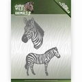 Amy Design Snijmal Wild Animals Zebra ADD10178