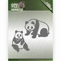 Amy Design Snijmal Wild Animals Panda Bear ADD10180