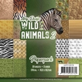 Amy Design Paper pack Wild Animals ADPP10026