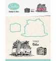 Nellie Snellen Stamps & Dies Holiday - Bus HDCS002