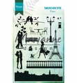 Marianne Design clear stamp Silhouette Paris CS1027