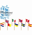 Marianne Design Creatables Flags LR0603