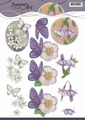 Jeanine's Art Knipvel Birds & Flowers CD11097