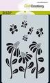 Craft Emotions Mask Stencil Bugs - Bloem 185070/0112