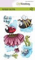 Craft Emotions Clear Stamp Carla Creaties Bugs 1 130501/1631