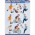 Yvonne Creations knipvel Big Guys - Sports CD11326