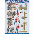 Yvonne Creations knipvel Big Guys - Pub Night CD11327