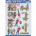Yvonne Creations knipvel Big Guys - Pub Night CD11327
