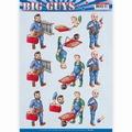 Yvonne Creations knipvel Big Guys - Repairs CD11328
