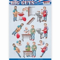 Yvonne Creations knipvel Big Guys - Backyard BBQ CD11329