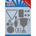 Yvonne Creations Die Big Guys - Play to win YCD10170