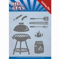 Yvonne Creations Die Big Guys - BBQ Time YCD10171