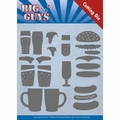 Yvonne Creations Die Big Guys - Fast Food YCD10172