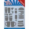 Yvonne Creations Die Big Guys - Fast Food YCD10172